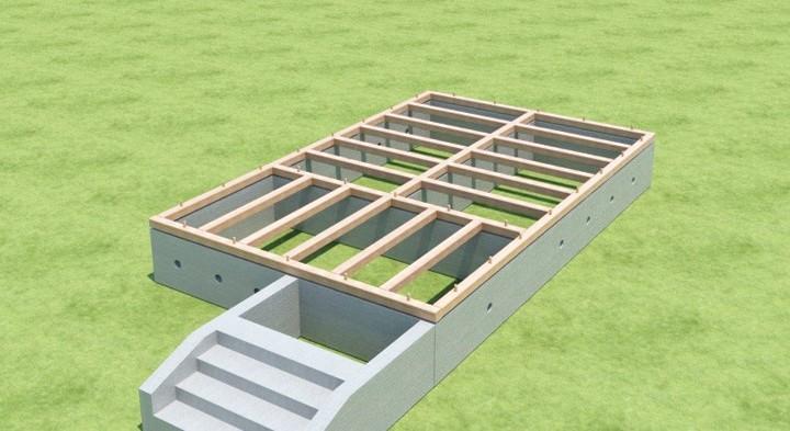 Технология строительства брусового дома