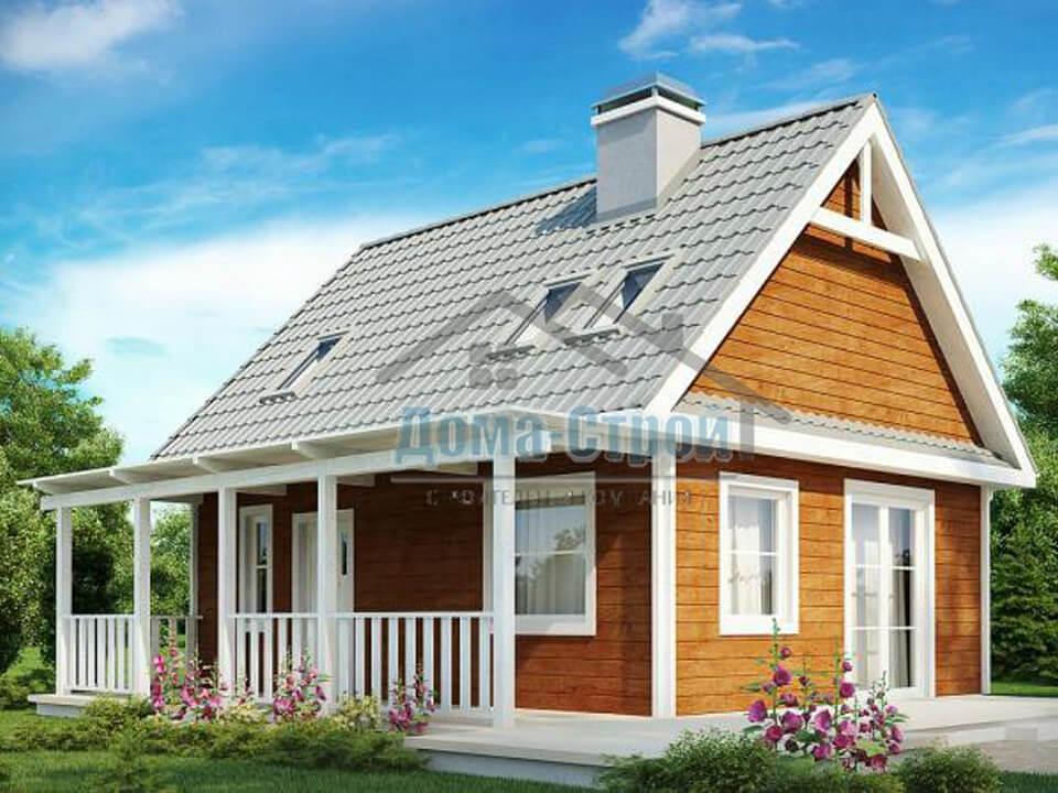 Дачный дом 08