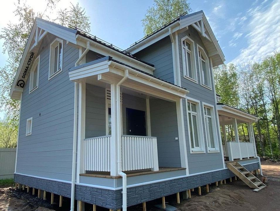 Проект Загородный дом 58 в реальности